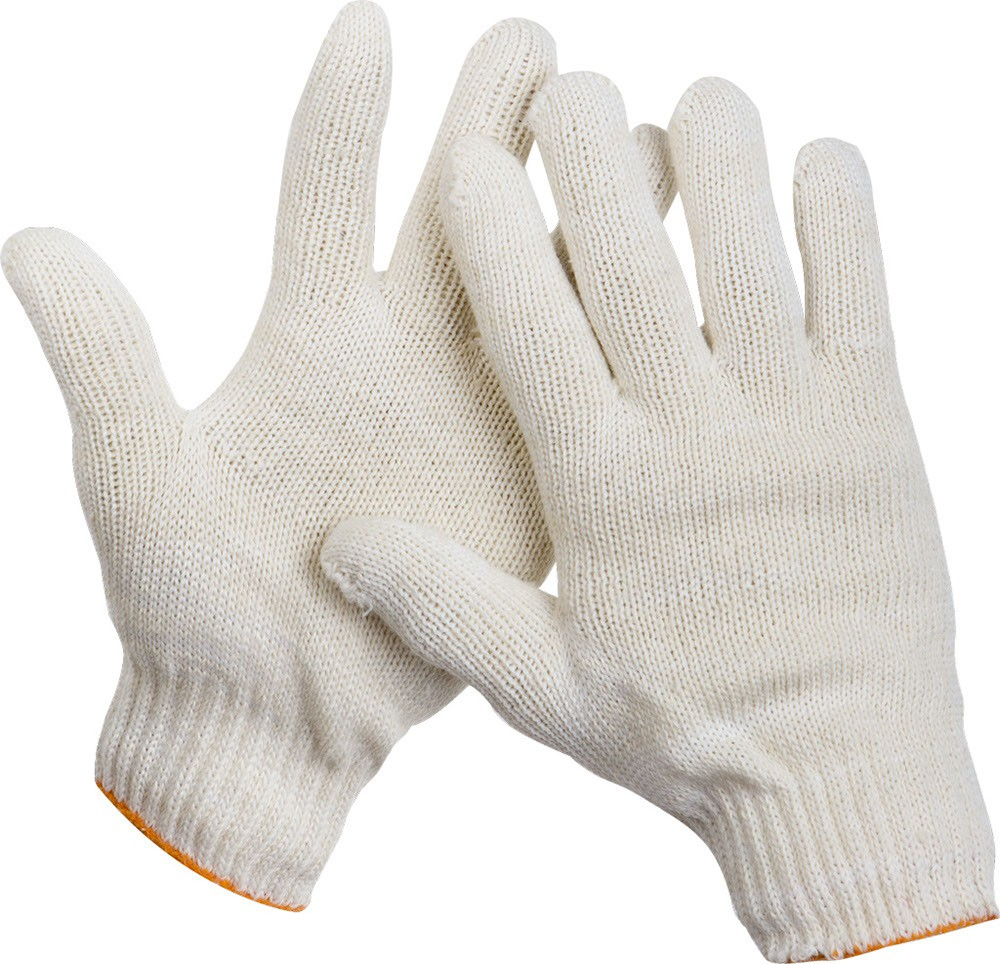 перчатки х/б 7,5 5-ти нитка 10 класс